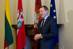 Vilniaus meras vienai dienai užleis savo kėdę studentui