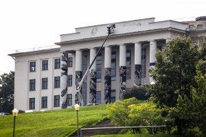 Sostinės valdžia mąsto apie Profsąjungų rūmų grąžinimą miestui