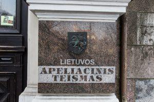 Lietuvos apeliacinis teismas muitininkų neišteisino