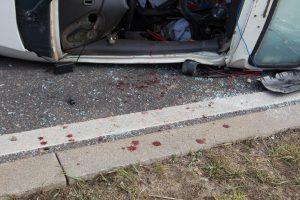 Per avariją Vilniaus rajone žuvo mikroautobuso vairuotojas