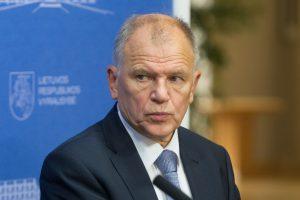 V. Andriukaitis sveikina S. Skvernelio poziciją dėl dialogo su Rusija