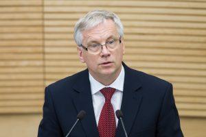 Krizės tyrėjams liudys buvęs finansų ministras R. Šadžius