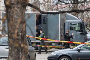 Statybvietėje Vilniuje vėl rasta sprogmenų