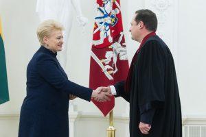 Kandidatą į pavaduotojus E. Pašilis ir prezidentė aptars akis į akį