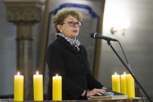 F. Kukliansky: popiežiaus malda Vilniaus gete svarbi ir Holokausto aukoms