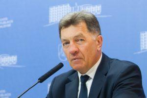 Premjeras: į incidentą Baltijos jūroje visų pirma turėtų sureaguoti JAV
