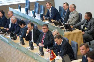 Varžybose dėl Seimo nario mandato – beveik visas ministrų kabinetas