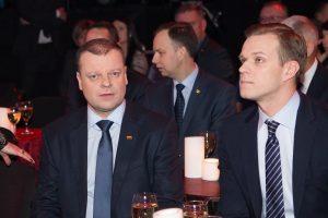 Ką susitikę sutarė S. Skvernelis ir G. Landsbergis?