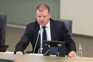 S. Skvernelis: politinė įtampa gali turėti įtakos Seime priimant sprendimus