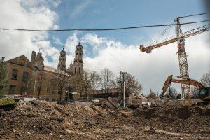 UNESCO ekspertai vertins statybas Vilniaus senamiestyje