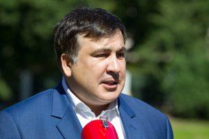 M. Saakašvilis patvirtino, kad rugsėjo 10-ąją grįš į Ukrainą