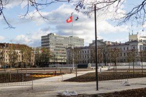 Už neskaidrų Lukiškių aikštės tvarkymo konkursą – bauda miesto valdžiai