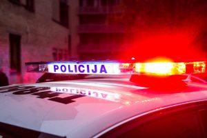 Vilniuje BMW automobilis partrenkė merginą