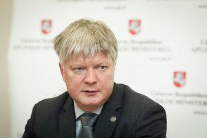VTEK: aplinkos ministras K. Navickas įstatymo nepažeidė