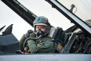 Praėjusi savaitė NATO oro policijos naikintuvams buvo rami