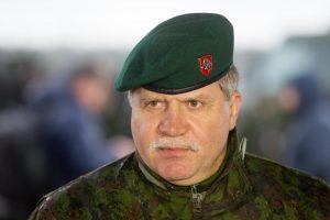 Lietuvos kariuomenės vadas lankosi Ukrainoje