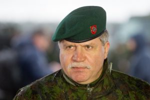 Kariuomenės vadas vyksta į JAV aptarti karinio bendradarbiavimo