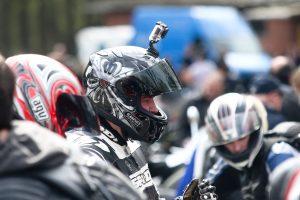 Per avariją Vilniuje sunkiai sužalotas motociklininkas