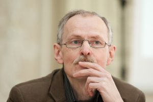 Rašytoją ir dailininką K. Kasparavičių įkvepia mylimas Vilnius