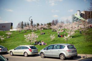 Pirmadienį oras Vilniuje – kaip ir savaitgalį