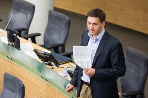 Konservatorių Seimo rinkimų štabui vadovaus D. Kreivys