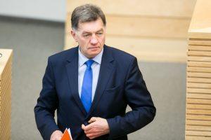 Premjeras nepritaria iniciatyvai prokuroro parinkimą perduoti Vyriausybei