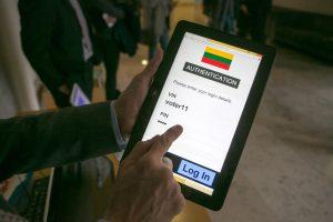 Elektroninį balsavimą tikimasi išbandyti jau per kitus Seimo rinkimus