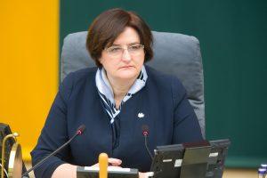 Seimo pirmininkei talkins nauja atstovė spaudai