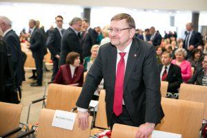 Pasisakė dėl J. Bernatonio kandidatūros į teisingumo ministrus