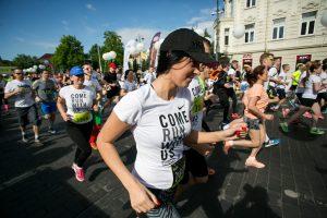 Sostinės gatves vėl užtvindys bėgikai (bus eismo ribojimų)