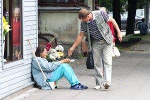 Žemiau skurdo ribos – daugiau kaip penktadalis lietuvių