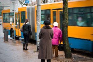 Vilniuje pradėtos taikyti viešojo transporto lengvatos senjorams