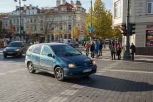 Keičiasi eismo reguliavimas ties Vilniaus arkikatedra