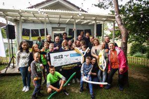 """Sėkmingas finišas: """"SOS Vaikų kaimams"""" surinkta 30 tūkst. eurų"""