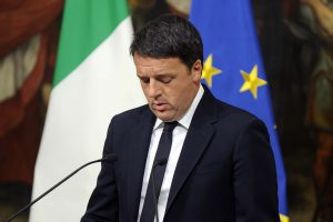 Pralaimėjęs referendumą Italijos premjeras M. Renzi atsistatydina