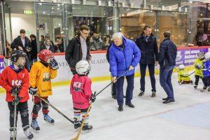 Uostamiestis planuoja naujos ledo arenos statybas