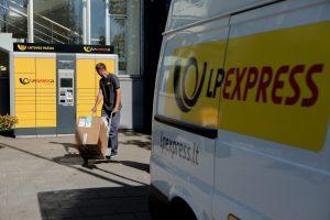 Lietuvos pašto siuntų savitarnos terminalų tinklas padidėjo trečdaliu