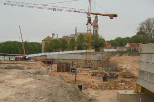 NT vystytojus išgąsdino ginčas dėl statybų prie Misionierių vienuolyno