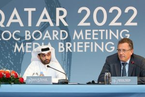 Pasaulio futbolo čempionatus 2018 ir 2022 metais rengs Rusija ir Kataras
