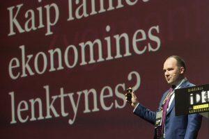 Ekonomistai: Lietuva gali pasivyti Vakarus