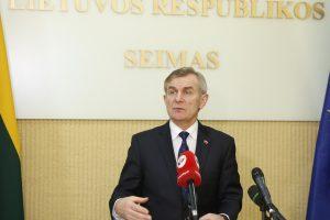 Seimo pirmininkas V. Pranckietis išvyksta į Islandiją