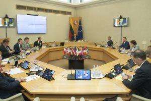 Vyriausybės posėdžiai ir pasitarimai bus transliuojami tiesiogiai