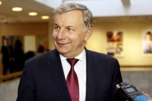 Ekonomikos komitetui turėtų vadovauti R. Sinkevičius