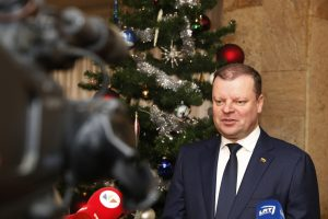 S. Skvernelis: dovanų iš Kalėdų senelio šiemet gaus visi ministrai