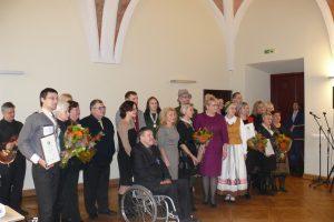 Už sėkmingą neįgaliųjų integraciją – apdovanojimai