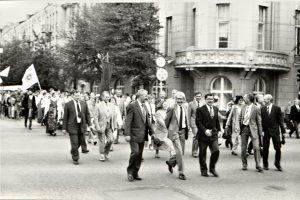 Tradicinės VU eitynės rugsėjo 1-ąją: nuo ko viskas prasidėjo?
