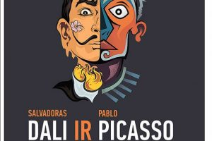 Vilniuje – legendinių Ispanijos menininkų S. Dali ir P. Picasso darbai