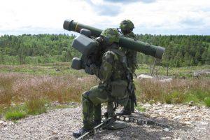 Lietuva iš švedų už 10 mln. eurų pirks trumpojo nuotolio raketų