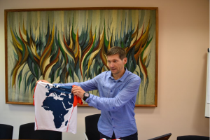 Rimtas iššūkis: ugniagesys A. Ardzijauskas bėgs nuo Dakaro iki Vilniaus