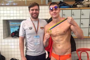 Plaukikas D. Rapšys pagerino Lietuvos rekordą